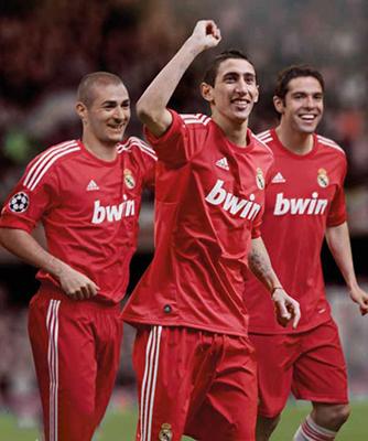 Camiseta Real Madrid UCL Tercera Retro 2012